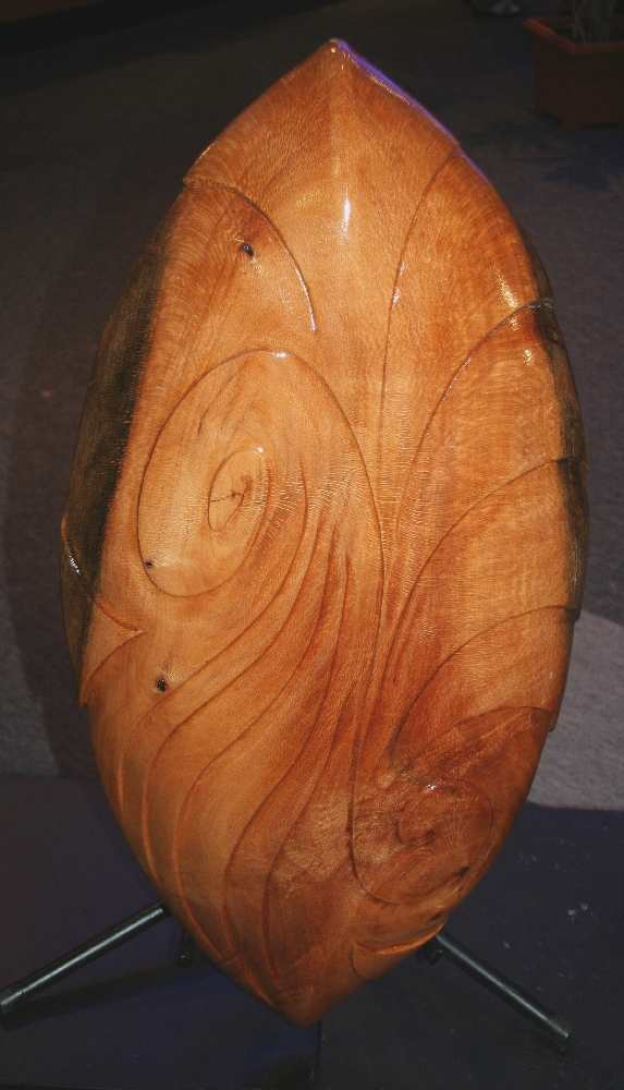Living in Harmony Respect Nature (silky oak) 2007