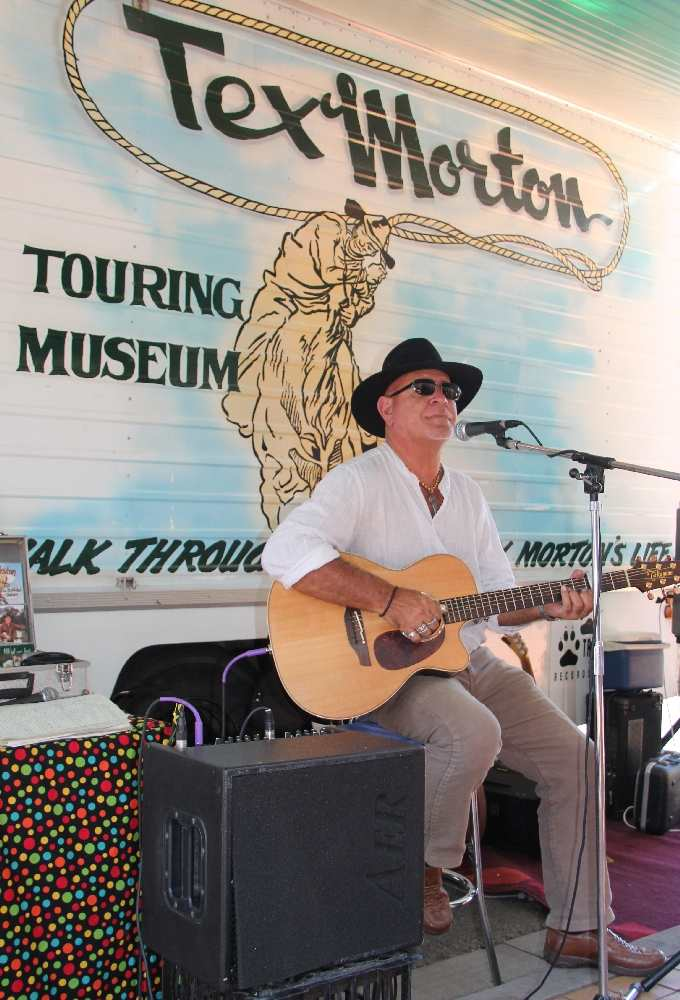 Tamworth 2015 CMF Tex Morton Touring Museum