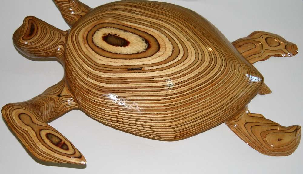 Turtle (laminated timber) 2007