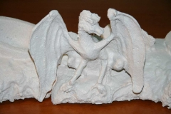 A Dragon Emerged Material(hebel) front view 2006